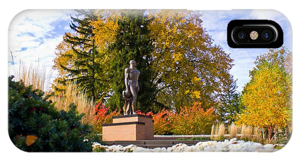 Sparty In Autumn  IPhone Case