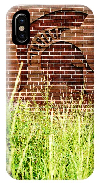 Sparty On The Wall IPhone Case