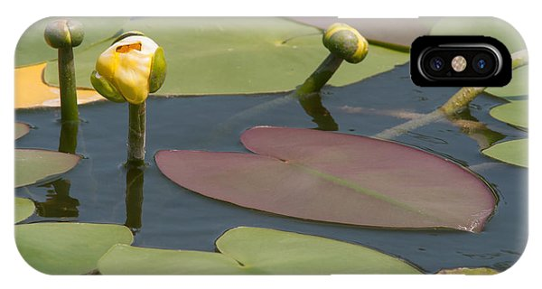 Spatterdock Heart IPhone Case