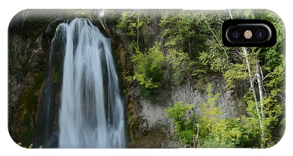 Spearfish Falls In Early September IPhone Case