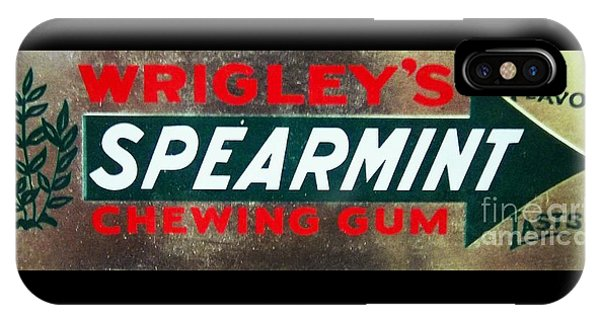 Spearmint Gum Sign Vintage IPhone Case