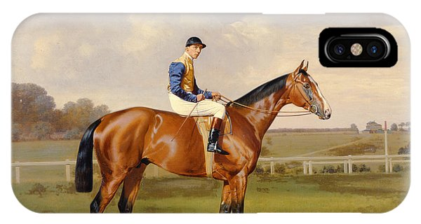 Spearmint Winner Of The 1906 Derby IPhone Case
