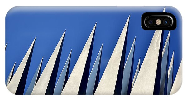 Monument iPhone Case - Spears In The Sky by Christina Sill?n