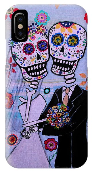 Special Day Dia De Los Muertos Wedding IPhone Case
