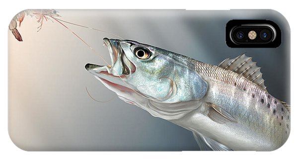 Fish iPhone Case - Speck Snack by Hayden Hammond