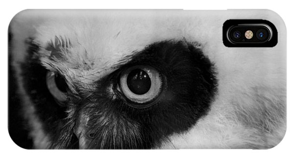 Spectacled Owl Phone Case by Simon Gregory