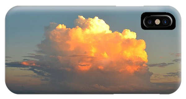 Spectacular Cloud In Sunset Sky IPhone Case
