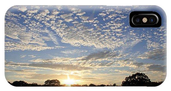 Spectacular Sunset England IPhone Case