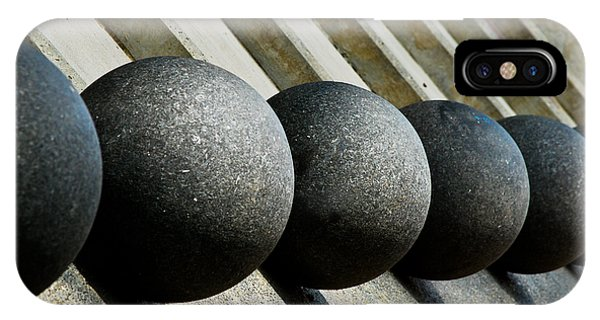 Spheres And Steps IPhone Case