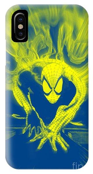Spider-man Y B Blast IPhone Case