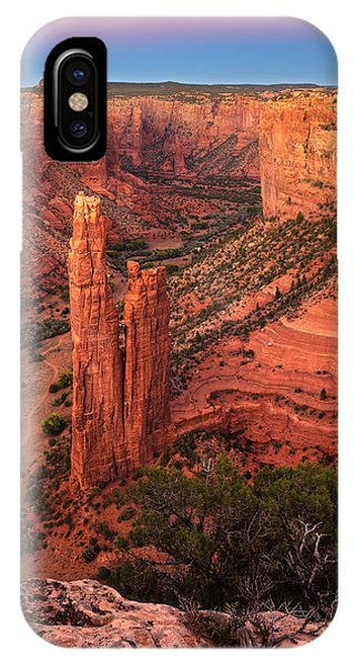 Spider Rock Sunset IPhone Case