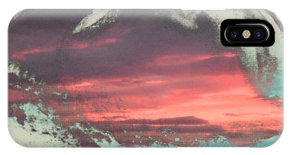 Spiegelung In Der Muschel IPhone Case