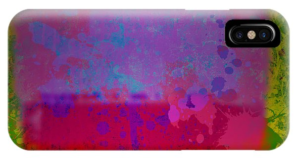 Spills And Drips IPhone Case