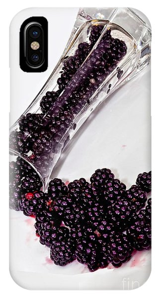 Spilt Blackberries IPhone Case