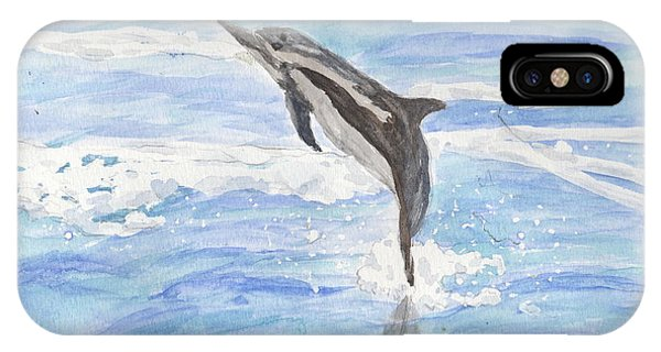 Spinner Dolphin IPhone Case