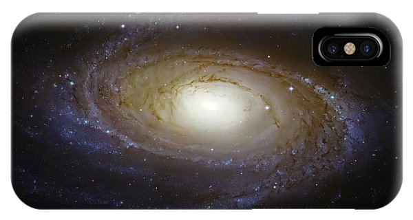 Spiral Galaxy M81 IPhone Case