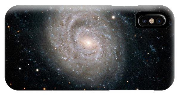 Astrophysical iPhone Case - Spiral Galaxy Ngc 1637 by European Southern Observatory