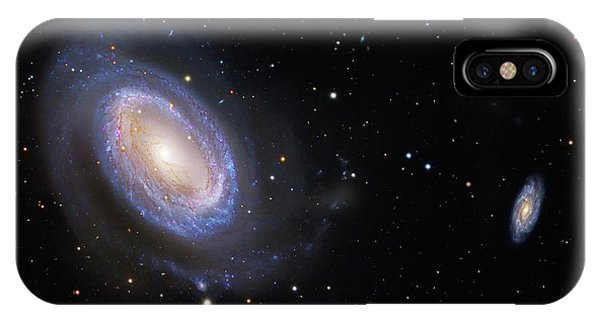 Astrophysical iPhone Case - Spiral Galaxy Ngc 4725 by Robert Gendler