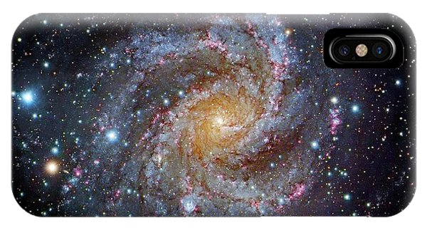 Astrophysical iPhone Case - Spiral Galaxy Ngc 6949 by Robert Gendler/science Photo Library