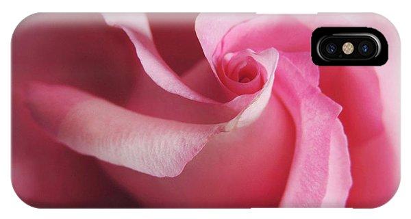 Spiral Rose IPhone Case