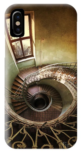 Spiral Staircaise With A Window IPhone Case