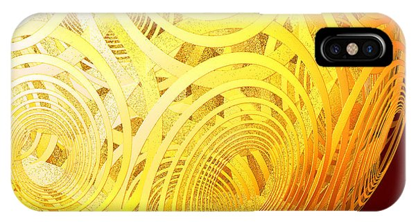 Spiral Sun By Jammer IPhone Case