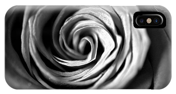 Spiraling Rose IPhone Case