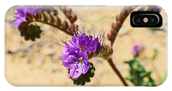 Spirals Of Lavender Phone Case by Rebecca Christine Cardenas