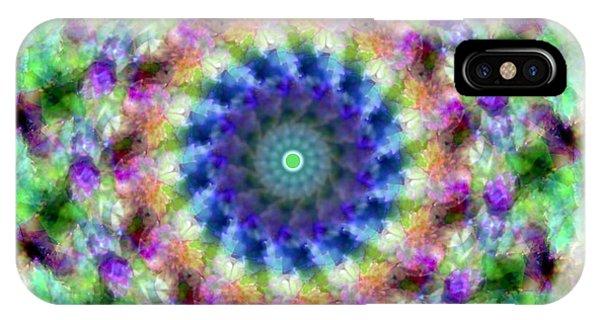 Spirea Mandala #1 IPhone Case