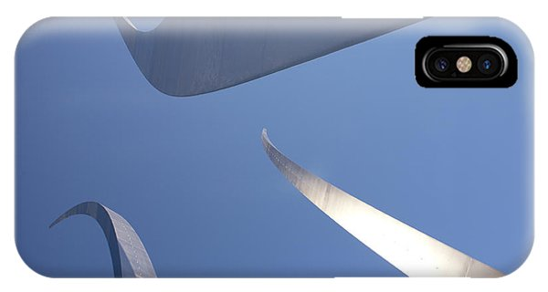 Spires Of The Air Force Memorial In Arlington Virginia IPhone Case
