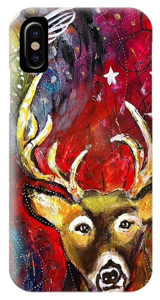 Spirit Deer And The Dreamcatcher IPhone Case