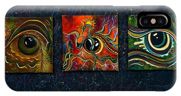 Spirit Eye Collection I IPhone Case