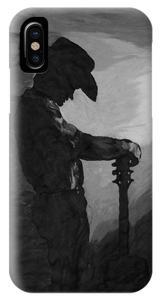 Spirit Of A Cowboy IPhone Case