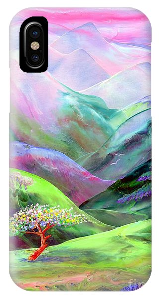 Rocky Mountain iPhone Case - Spirit Of Spring by Jane Small