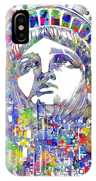 Manhattan Skyline iPhone Case - Spirit Of The City by Bekim M