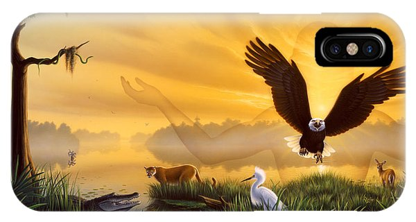 Spirit Of The Everglades IPhone Case