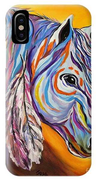 'spirit' War Horse IPhone Case