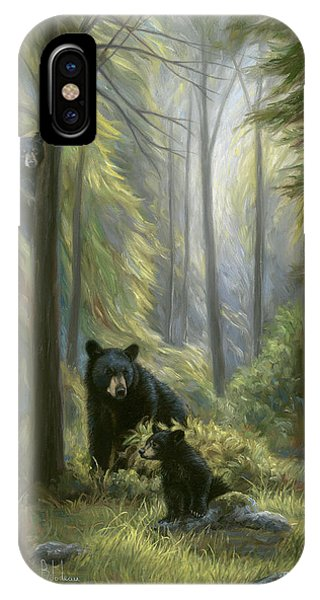 Mammal iPhone Case - Spirits Of The Forest by Lucie Bilodeau