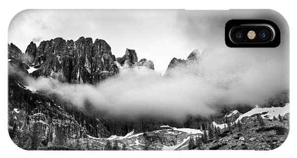 Cloud iPhone Case - Spirits Of The Mountains by Yuri Santin