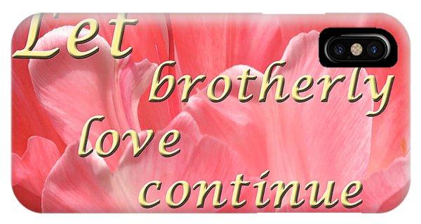 Spiritual Love IPhone Case