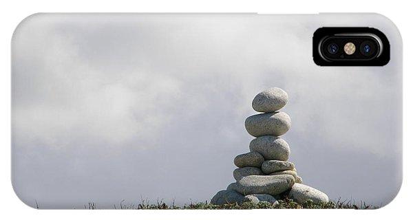 Spiritual Rock Sculpture IPhone Case
