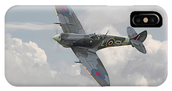 Skyscape iPhone Case - Spitfire - Elegant Icon by Pat Speirs