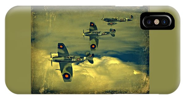 Spitfire Flight IPhone Case