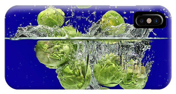Splash-brussels Sprouts IPhone Case
