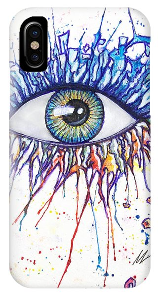 Splash Eye 1 IPhone Case