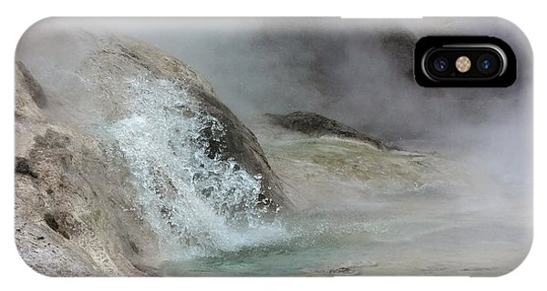 Splash From Grotto Geyser IPhone Case