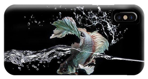 Surface iPhone Case - Splash by Shikhei Goh