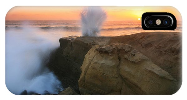 Splash Sunset  IPhone Case