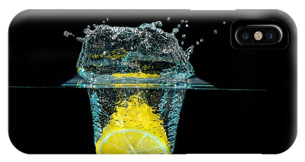 Splashing Lemon IPhone Case
