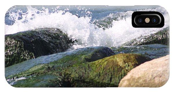 Splashing Rocks IPhone Case
